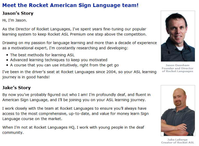 Rocket-American-Sign-Language