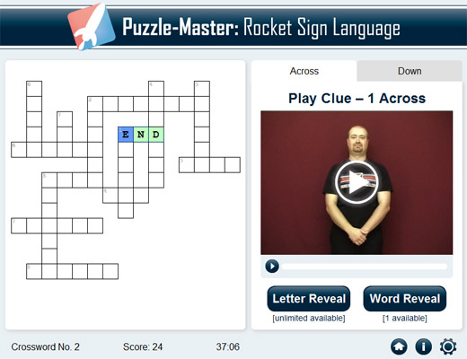 Rocket Sign Language Premium Puzzle Master