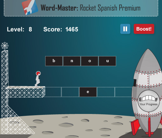Rocket Spanish Games